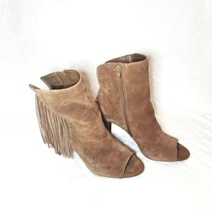 Gianni Bini open toe booties sz 10m